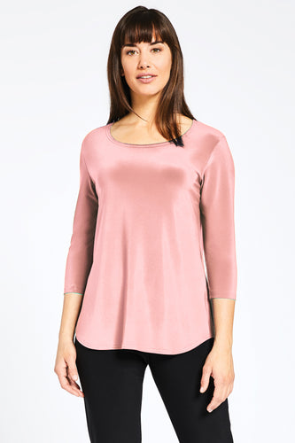 Blush Essential 3/4 Sleeve Top