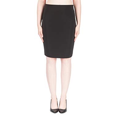 Black Essential Pencil Skirt
