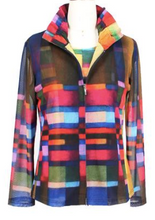 Load image into Gallery viewer, Multicolor Plaid Checkered Mesh Twin Set