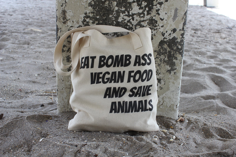 Bomb Ass Vegan Tote Bag