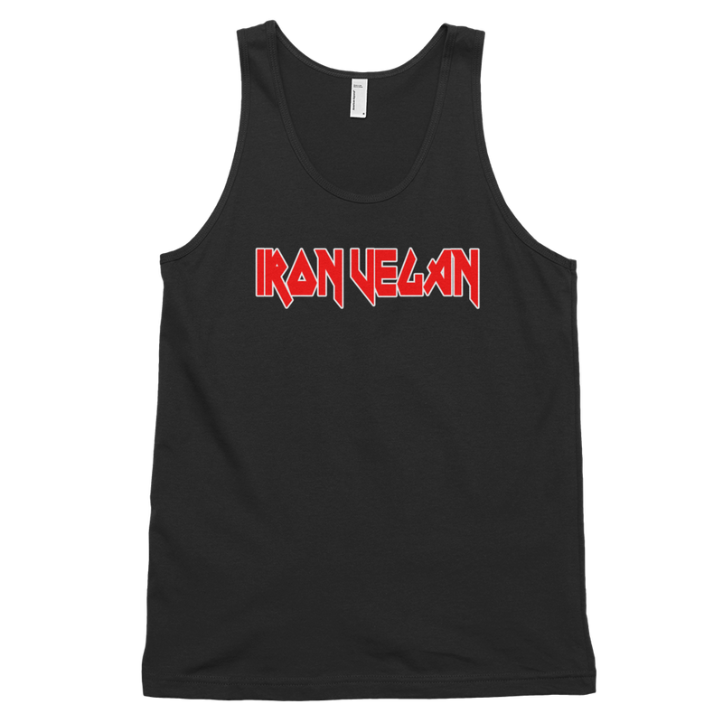 Iron Vegan Unisex Tank Top