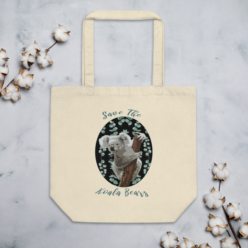 Save the Koala Eco Tote Bag-ALL PROCEEDS DONATED!