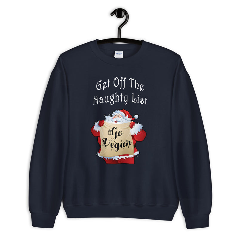 Naughty List Unisex Sweatshirt