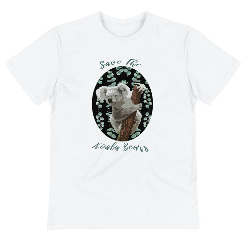 Save the Koala Sustainable T-Shirt-ALL PROCEEDS DONATED!