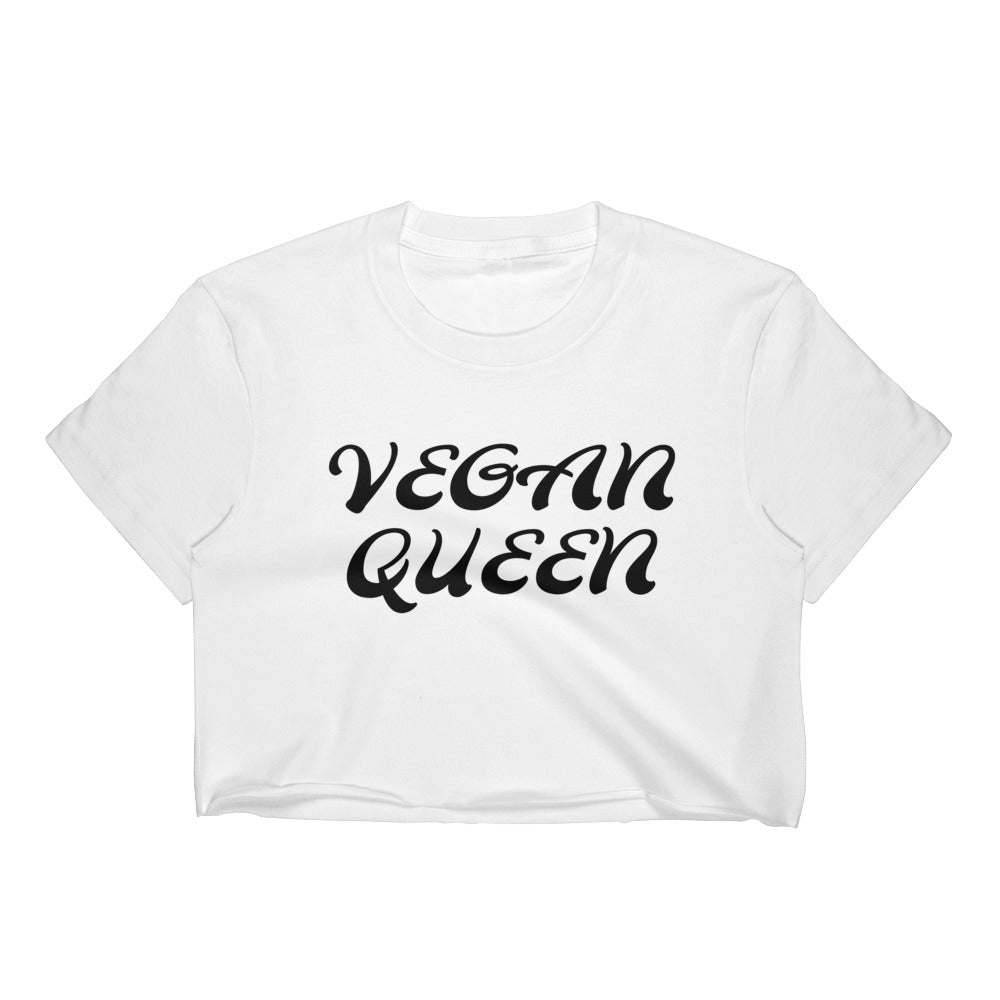 Vegan Queen Women's Crop Top