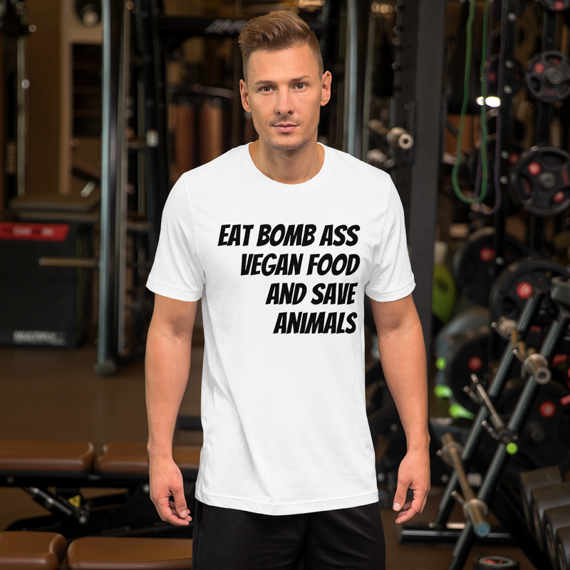 Bomb Ass Vegan Unisex T-Shirt