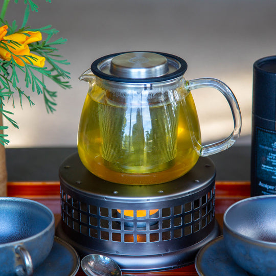 Grosche Waterloo Teapot and Nairobi Warmer