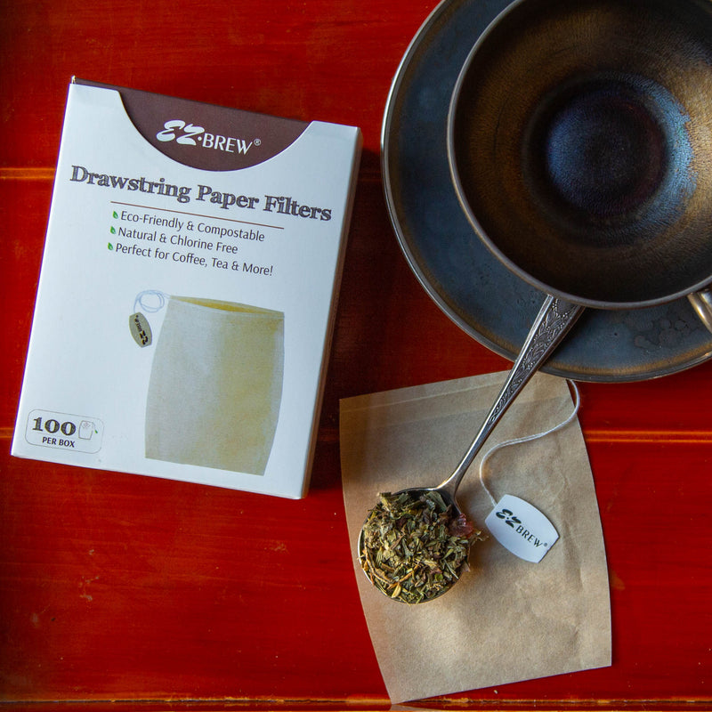 Chesser Roe | EZ Brew Drawstring Tea Bags