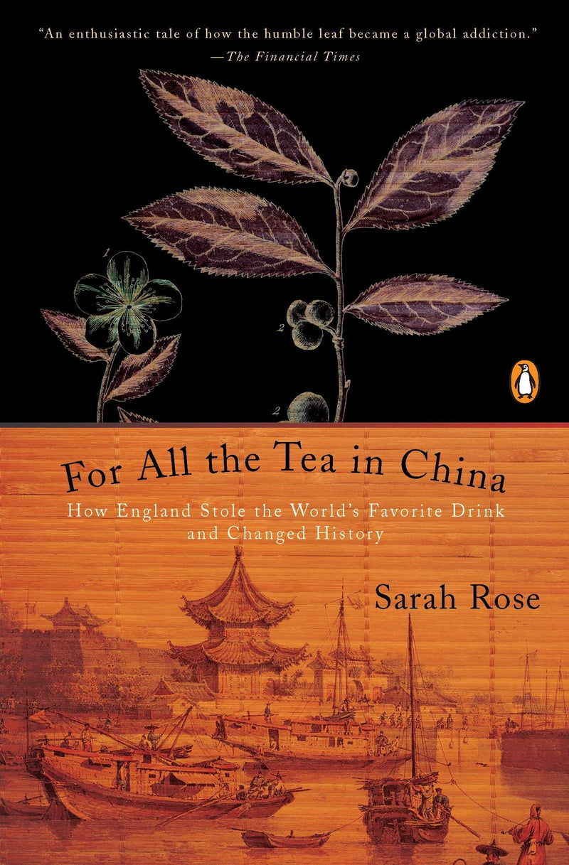 "Book + Tea Crate Sampler for ""All The Tea In China"""