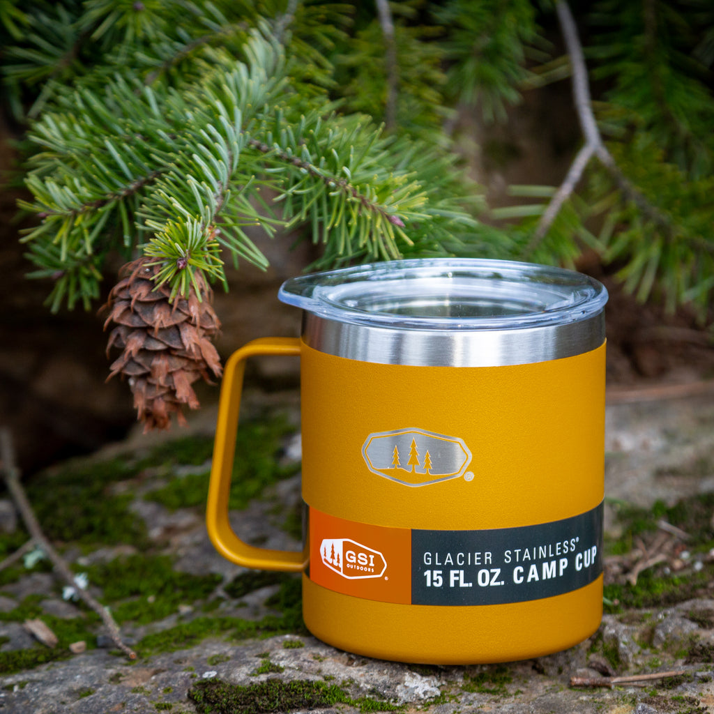 GSI 15oz Glacier Camp Cup {Mustard Yellow}