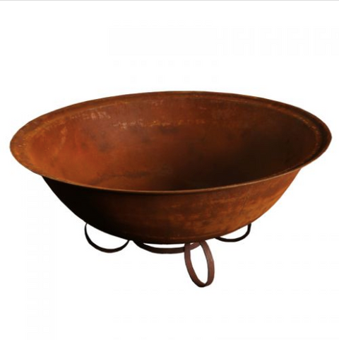 100cm Cast Iron Deep Bowl ~ 4mm