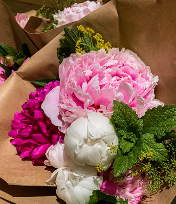 Fresh Cut Flower Bouquets - Coming Soon!