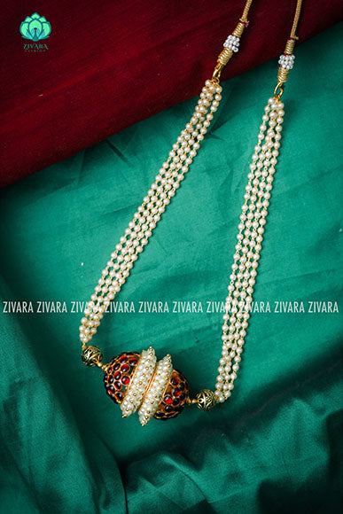 Pravalika- Traditional kemp chocker