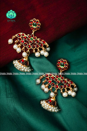 Designer jhumka - a fashion kemp jewellery