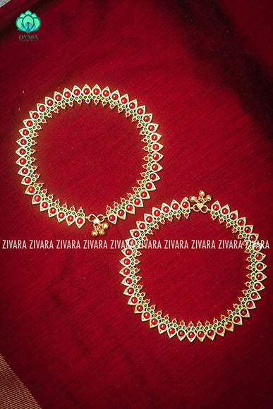 Payal- traditional kemp anklets