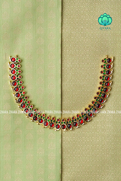 Pallavi- kemp jewellery - Zivara fashion- south indian kemp neckwear for women