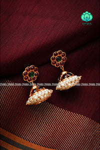 Kemp earrings - Simple jhumkas