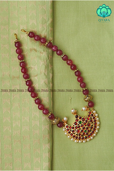 Prithuvi  - Traditional kemp neckwear with beads-