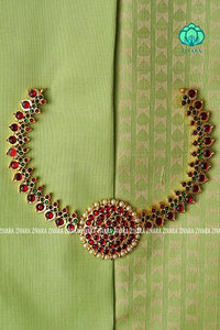 Pooja- A traditional Kemp Neckwear- Zivara fashion exclusive