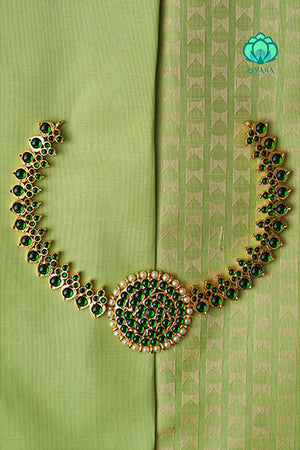 Pooja- A traditional Kemp Neckwear- zivara fashion