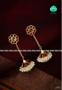 Kemp traditional jhumkas- south indian jewellery for women