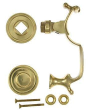 6 1/2 Inch Solid Brass Traditional Doctor's Door Knocker