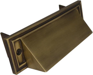 Mission Style Mail Slot for Front Doors
