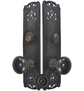 Cornice Plate Single-Door Deadbolt Entryway Set