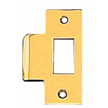 Solid Brass Replacement Strike Plate