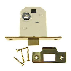 Polished Brass Mortise Latch