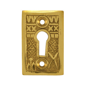 Solid Brass Tiny Key Hole Cover