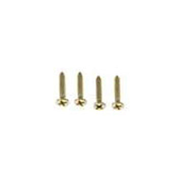 Single 3/4 Inch Solid Brass Wood Screw