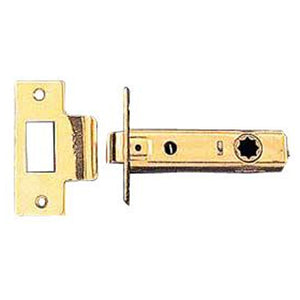 Solid Brass 2 3/8 Inch Tubular Passage Latch Backset
