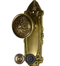 Solid Brass Largo Design Provincial Style Door Knob Set
