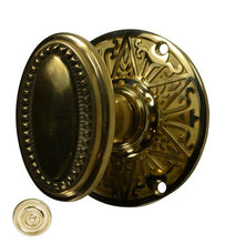 Lancaster Door Set With Beaded Oval Knob