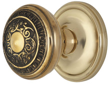 2 Inch Egg And Dart Door Knob With Victorian Style Rosette