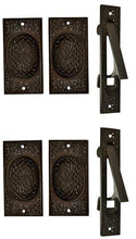 Craftsman Pattern Single Pocket Passage Style Door Set