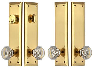 Quaker Style Double-Door Deadbolt Entryway Set