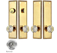 Georgian Roped Double Door Deadbolt Entryway Set