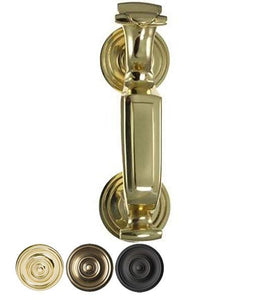 8 Inch Tall Traditional Doctor's Door Knocker