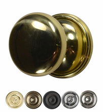 Traditional Brass Door Knob with Victorian Rosette