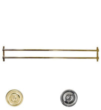 36 Inch Solid Brass Double Push Bar