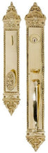 Solid Brass L'Enfant Handle Entryway Set