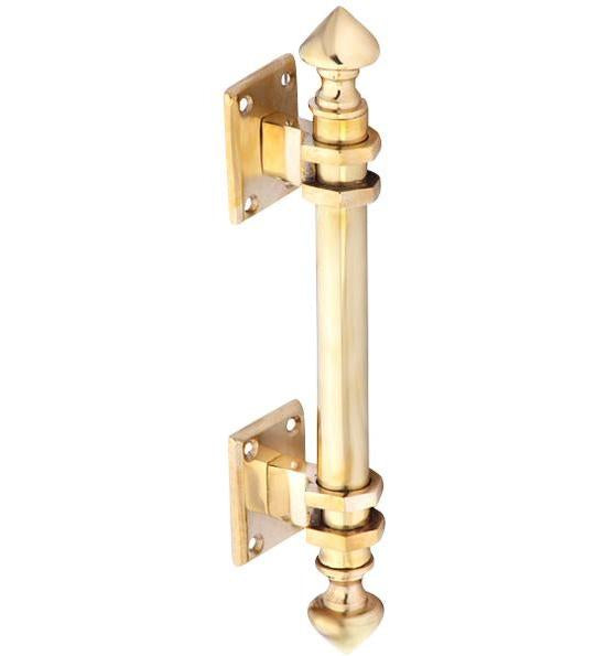 8 Inch Solid Brass Colonial Style Pull
