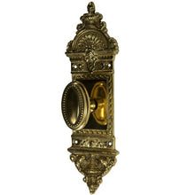 European Door Set With Beaded Oval Knob