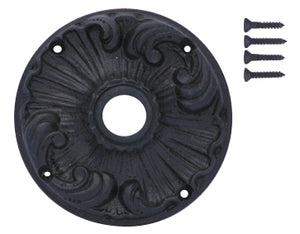 Romanesque Solid Brass Rosette Plate
