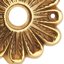Solid Brass Maltesia Style Rosette (Polished Brass Finish)