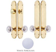 Traditional Oval Double Door Deadbolt Entryway Set