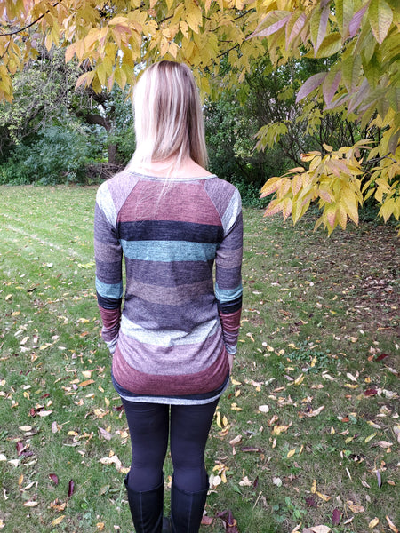 Freedom Road Striped Tunic