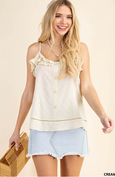 Candy Kiss Cream Tank